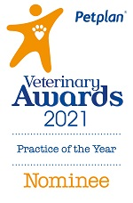 Pet Plan Veterinary Awards 2021 Practice of the Year Nominee